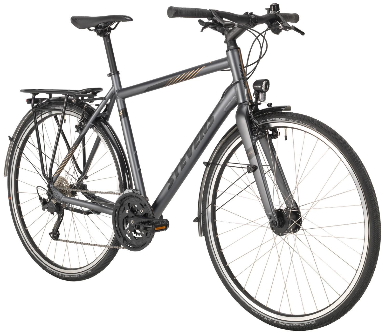 4X Lite Tour Gent 21 55 Slate Grey angled MY21 - Fahrräder
